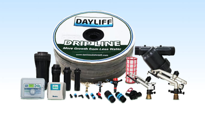 DAYLIFF 1 ACRE CABBAGE/LETTUCE/SPINACH DRIP IRRIGATION KIT 64*64M - 500MM