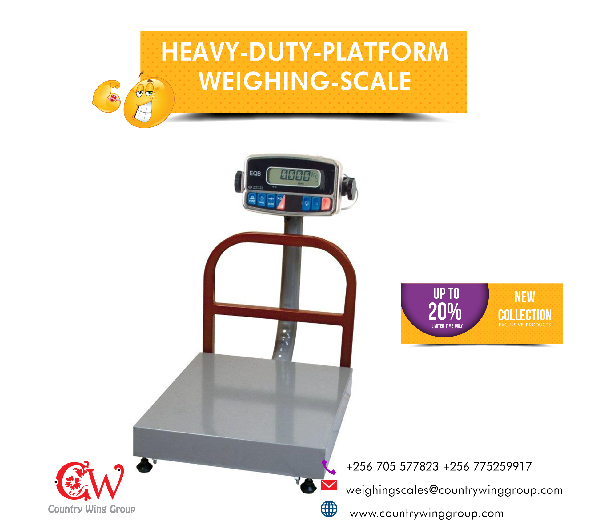 Calibration of weighing scales