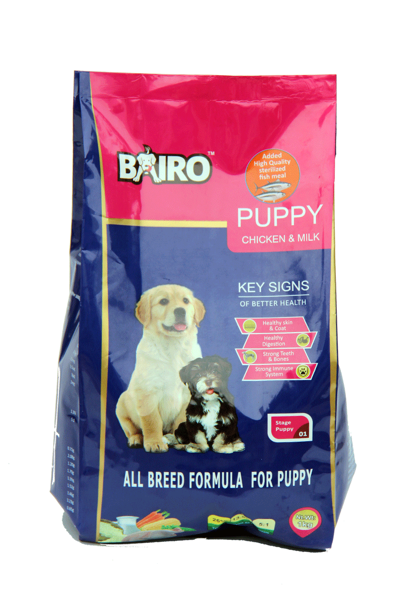 BAIRO puppy meat and rice (16Kg)