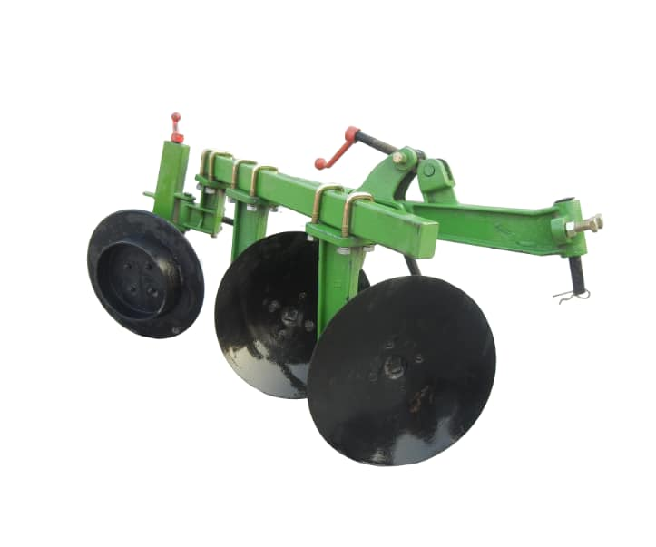 Disc ploughs for 16 horse power walking hand tractor