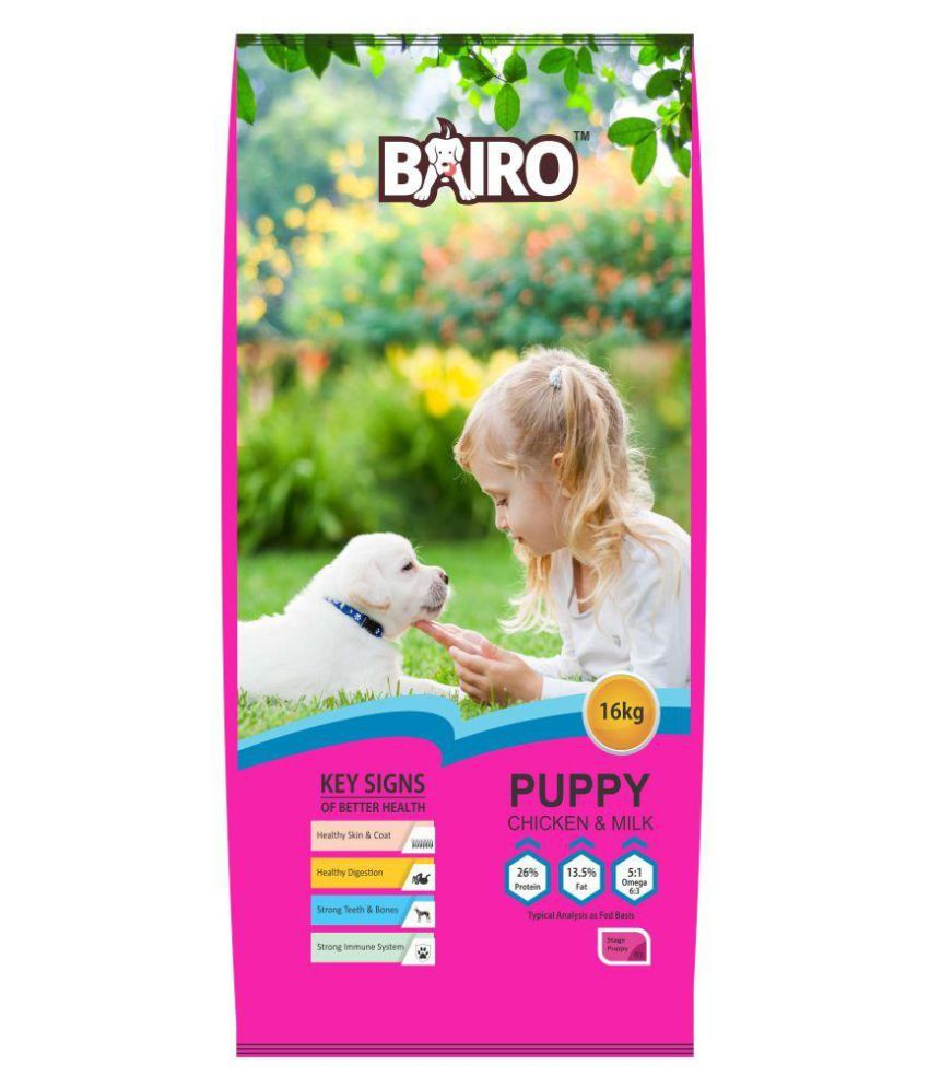 BAIRO puppy chicken and milk (16Kg)