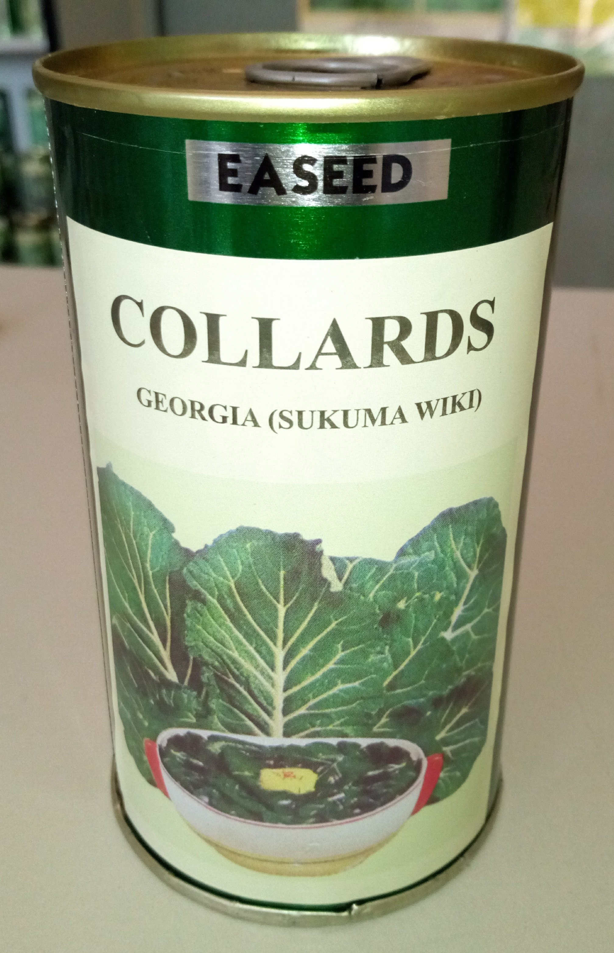Georgia Collards Sukuma Wiki Seeds (10gm)