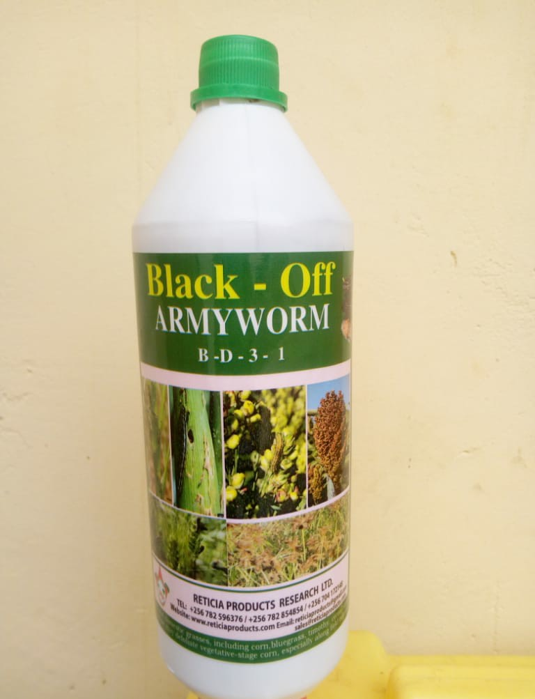Black Off organic armyworm pesticide (1L)