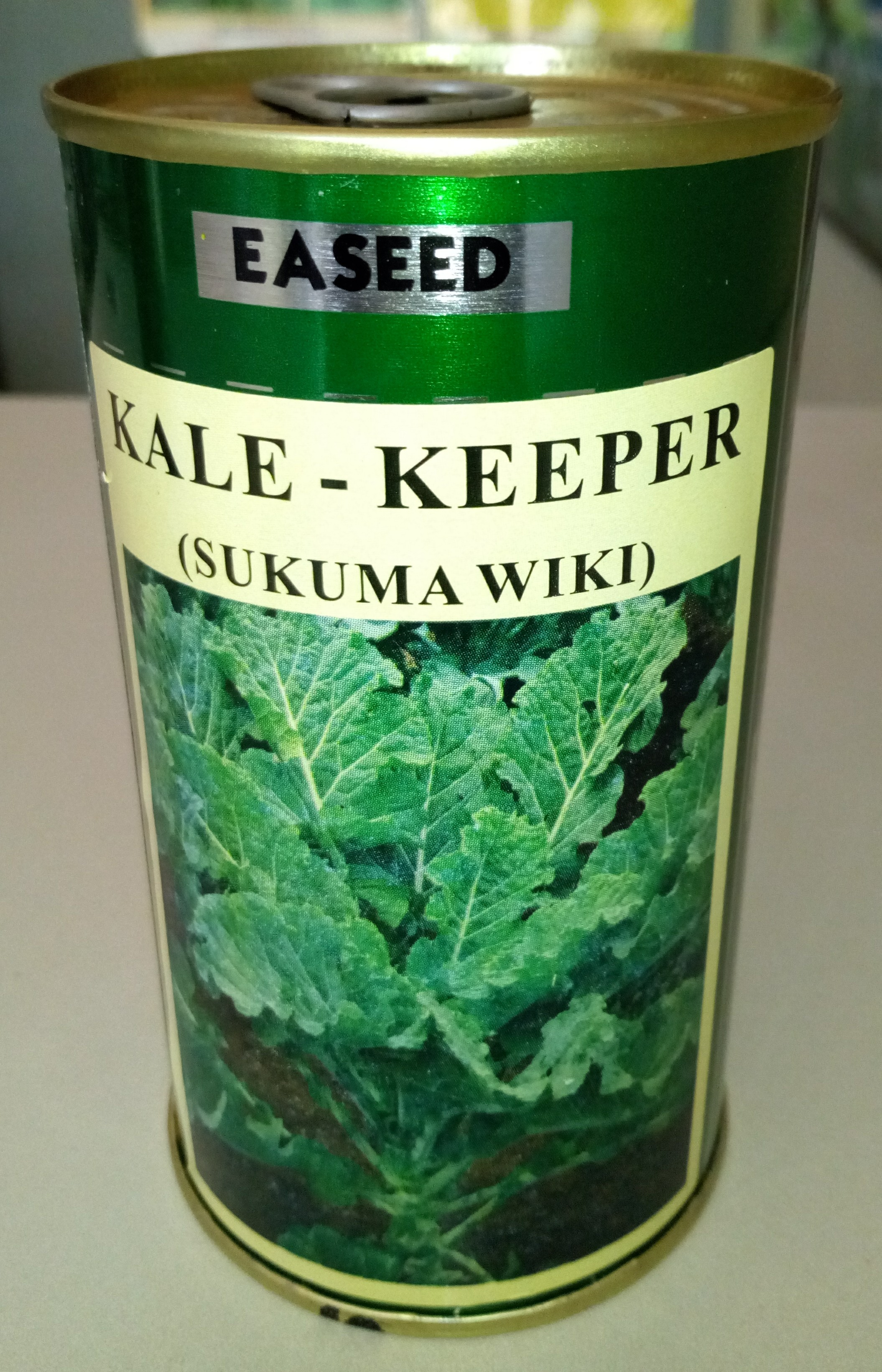 KALE KEEPER Collards Sukuma Wiki Seeds (10gm)