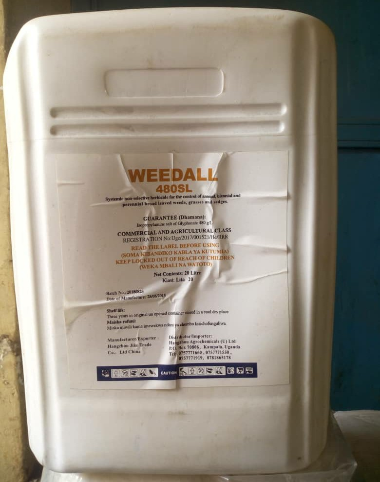 Weedall non-selective herbicide (20L)