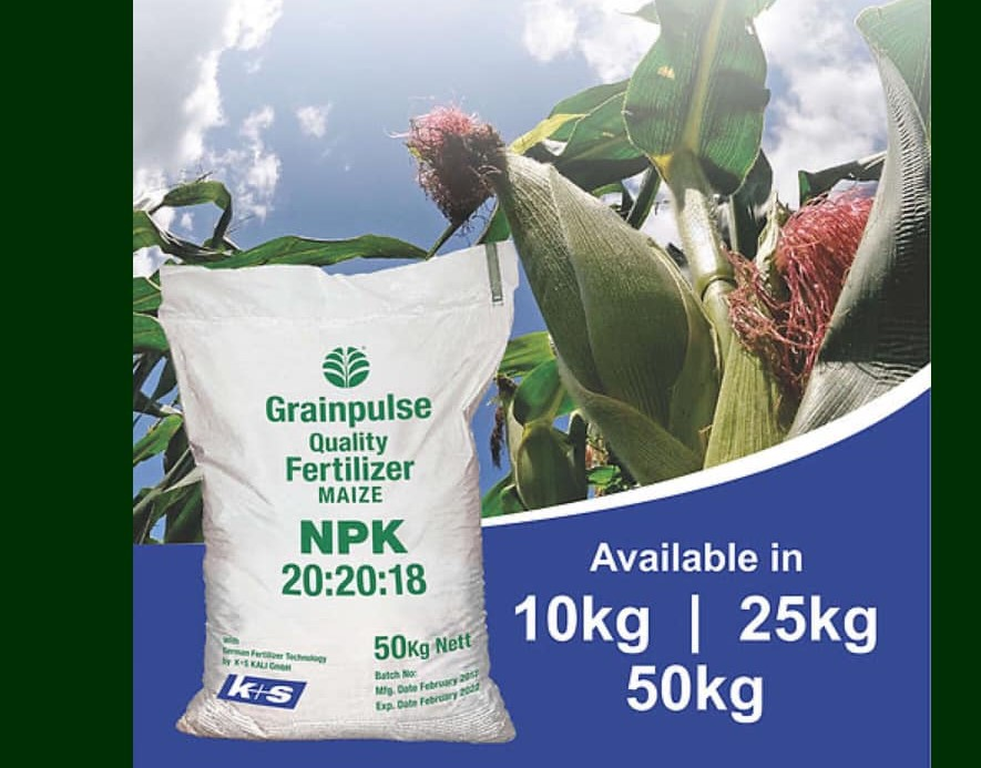 Maize NPK Fertilizer (50Kg)