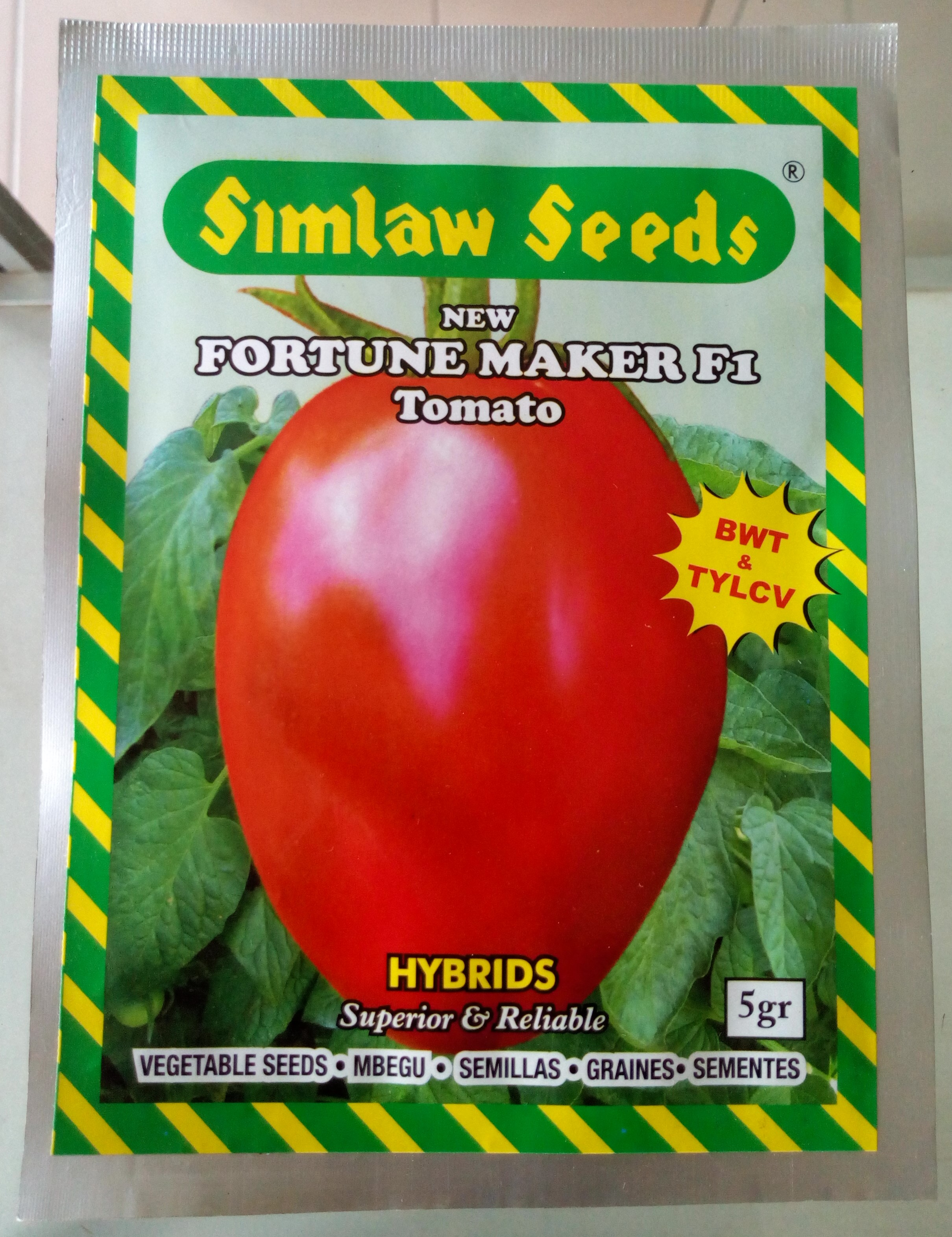 New Fortune Maker F1 Tomato Seeds (10gm)