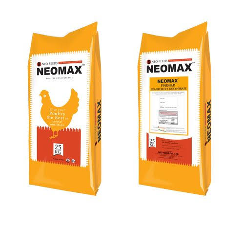 NEOMAX poultry broiler concentrate 10% (25Kg)