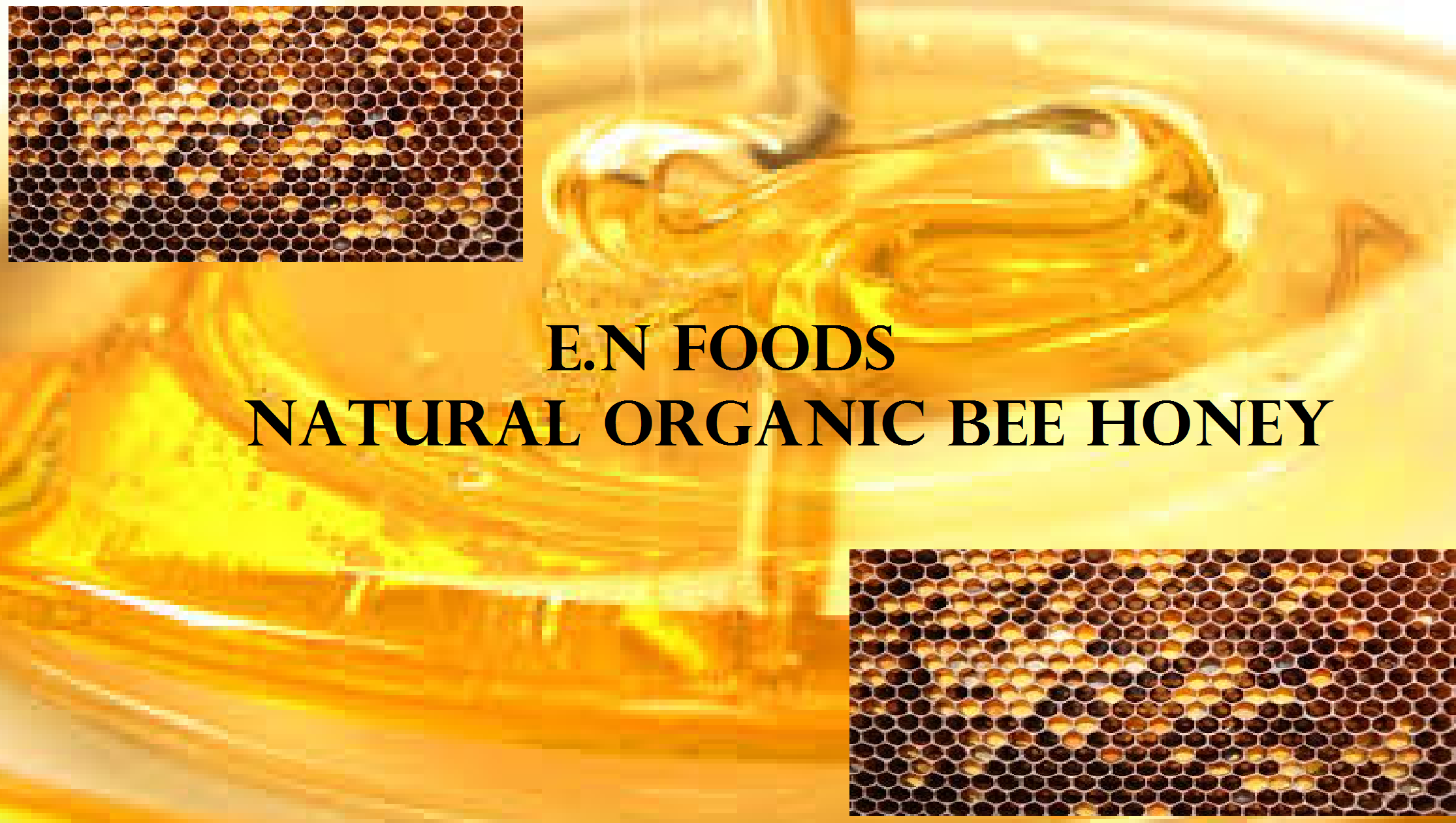 Pure Organic Bee Honey