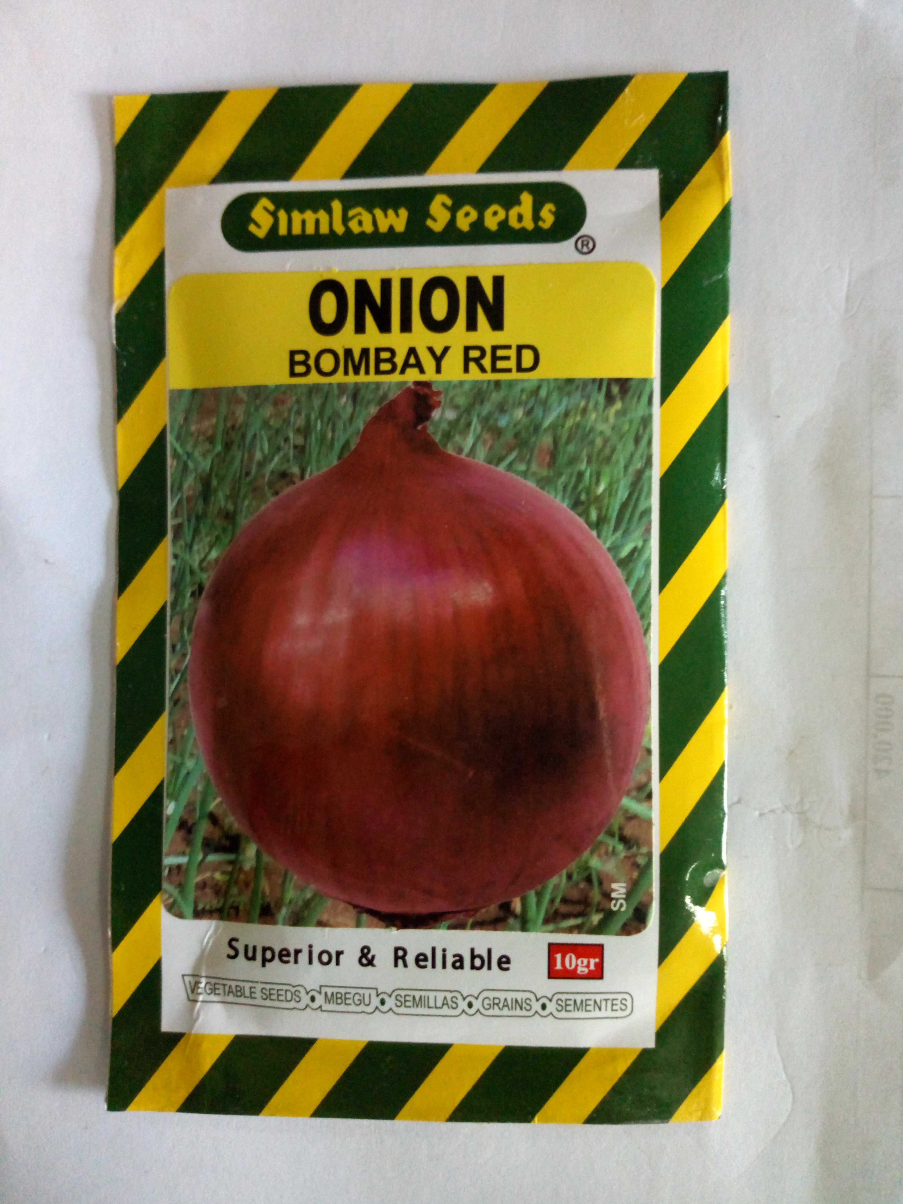 Red Bombay Onion Seeds