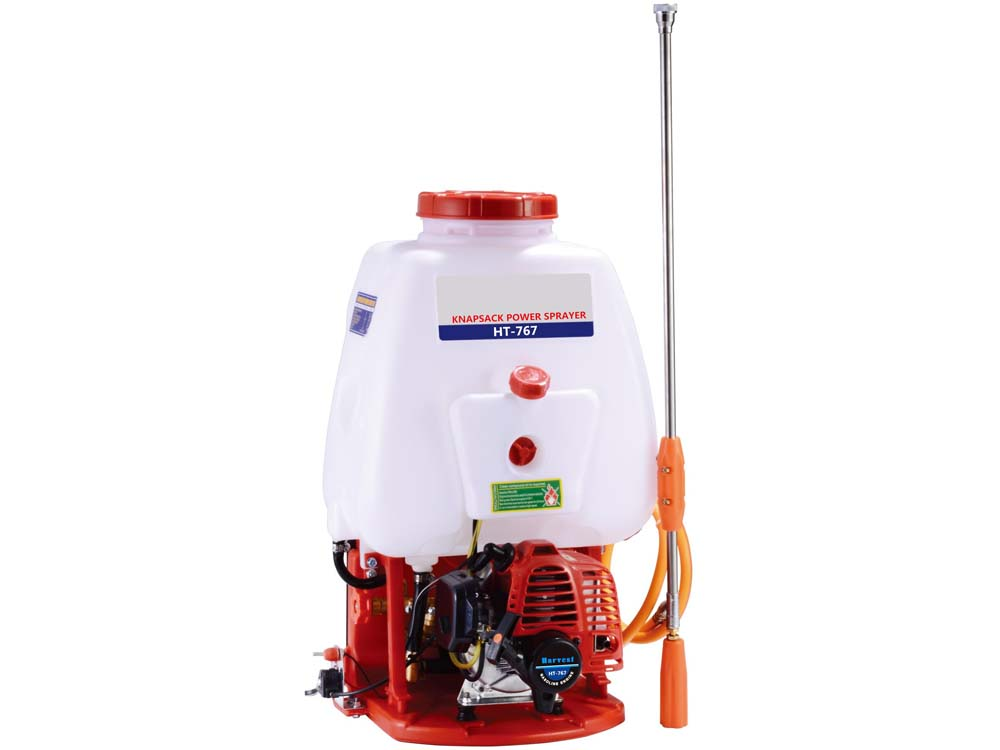 2 Stroke Knapsack Motorized Power Spray Pump (25L)