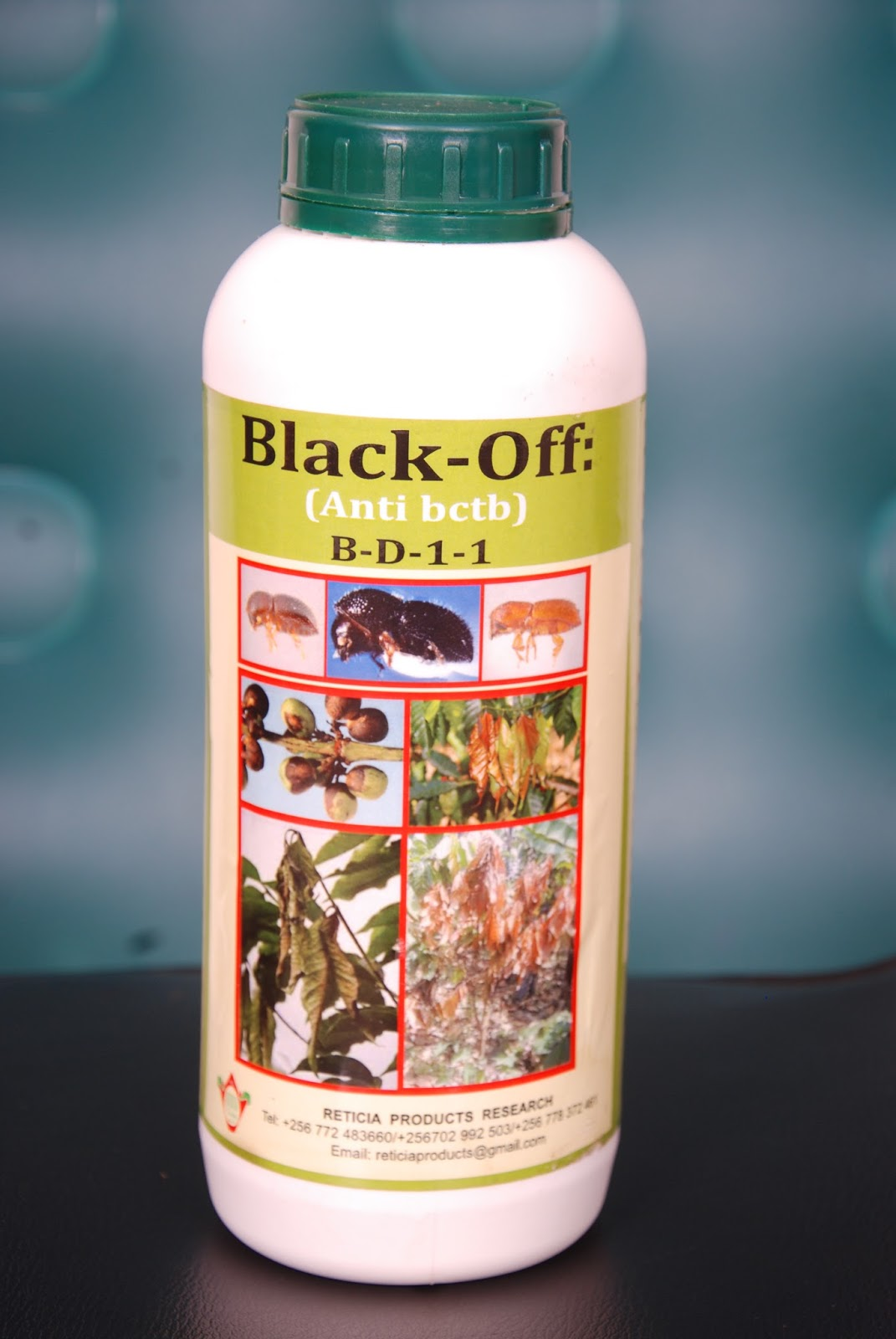 Black Off Bio Multipurpose 3 in 1 Pesticide, Fertilizer and Fungicide (1L)